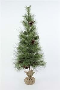 "Appalachian Lodge Mini Ponderosa Pine Tree Size: 48"""
