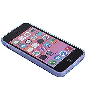 Mini - Solid Color TPU Soft Case Cover for iPhone 5C , Color: Gray