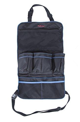 Swirts™ Premium Car Backseat Organizer, Black by Swirts™ (Image #1)