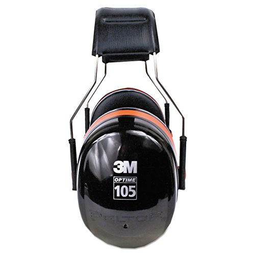 3M Peltor Optime 105 Over the Head Earmuff, Ear Protectors, Hearing Protection, NRR 30 dB by 3M (Image #3)