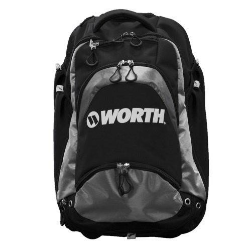 Worth XL野球/ソフトボールWheeledバックパックBat Bag B0713Y9QV8 ブラック/グレー ブラック/グレー