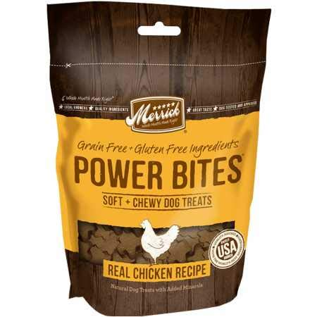 Merrick Power Bites Chicken Dog Treats (6 oz) from Merrick
