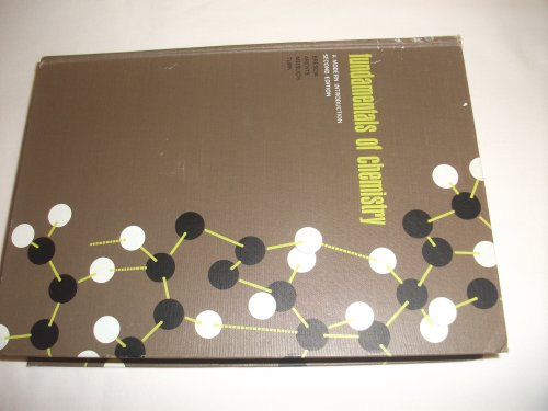 Fundamentals of Chemistry: a Modern Introduction 2nd Edition;