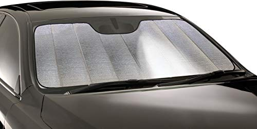 Automotive Introtech Windshield - Intro-Tech LX-44-R Silver 0 Ultimate Reflector Custom Fit Folding Windshield Sunshade for Select Lexus RX350/450H Models