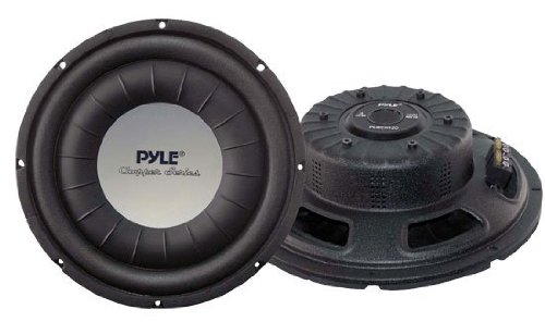 PLWCH12D 2400W Shallow Mount Subwoofers Woofers