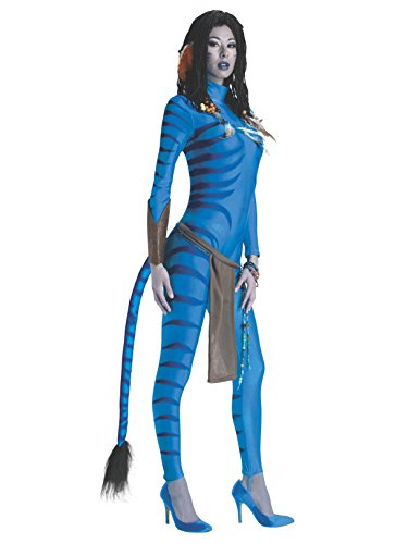 Secret Wishes Avatar Neytiri Costume, Blue, Large (10/14) ()