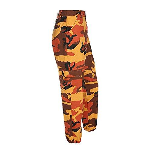 Hot 633 Red Pants Di Arancia Giallo S Camo m Viola Casual Outdoor Jiameng Donna Mimetica Stampa Grigio Cargo Jeans Harem Camuffamento l Pantaloni Sportivi Da Rosa Con UWw0q1O