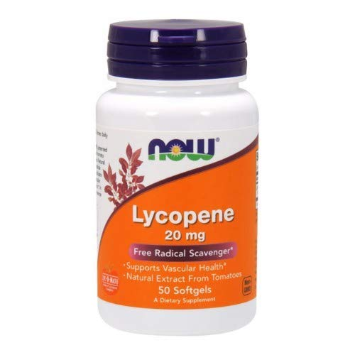 Now Foods Lycopene, 50 softgels / 20 mg (Pack of 2) by Now Foods (Image #1)