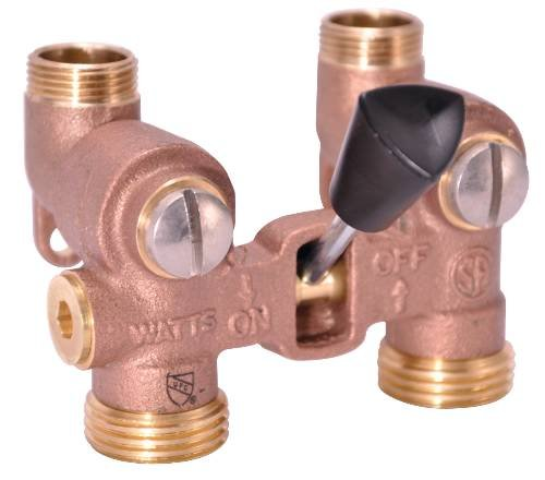 WATTS WATER TECHNOLOGIES GIDDS-261047 Washing Machine Shut Off Valve, 1/2'' Sweat