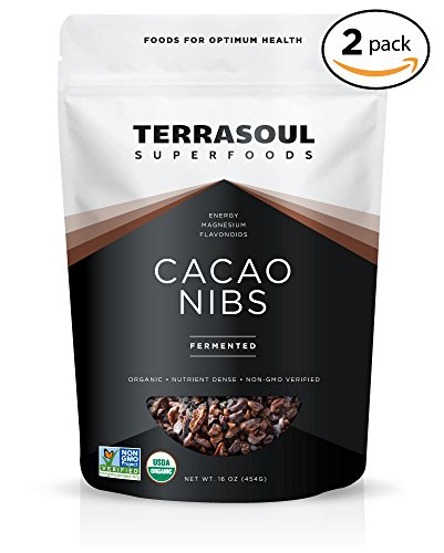 (Terrasoul Superfoods Raw Organic Criollo Cacao Nibs, 2 Pounds)