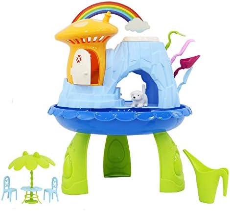 Amazon.es: deAO Jardín en Miniatura Mi Cuento de Hadas Casa de Campo Mágica para Muñecas Juego de Botánica Infantil Incluye Semillas, Tierra y Accesorios: Juguetes y juegos