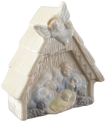 Cosmos N8045B Fine Porcelain Nativity Night Light, 3-3/8-Inch (Kitchen Fairy Nativity)
