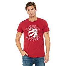 NBA Toronto Raptors Circle White on Red Tee