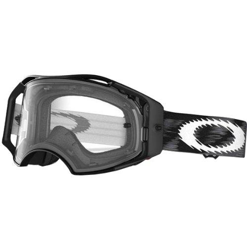 Oakley Airbrake MX Goggles (Jet Black Speed Frame/Clear - Oakleys Who Wears