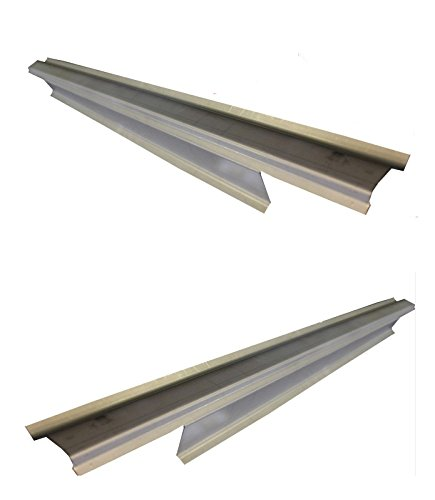 Motor City Sheet Metal - Works With 1994-2002 Dodge Ram 4 Door Quad Cab Outer Rocker Panel Pair ()