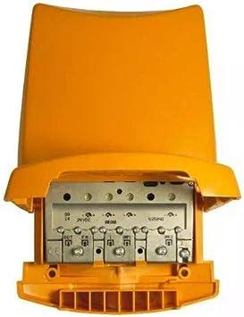 Televes 535840 - Amplificador mástil 24v fm-biii/dab-uu g41