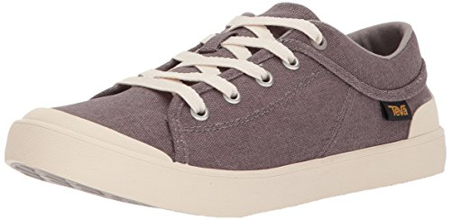 Canvas Sneakers For Women - Teva Womens Women's W Freewheel Washed Canvas Sneaker Plum Truffle 8 M US