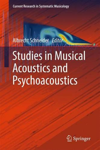 Studies in Musical Acoustics and Psychoacoustics (Current Research in Systematic Musicology)