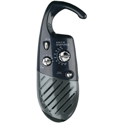 Conair Home Shower Radio; Black