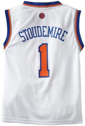 - adidas Amar'e Stoudemire Youth Jersey Revolution 30 White Replica #1 New York Knicks Jersey