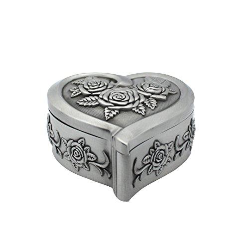 Heart Shape Trinket Box - 5