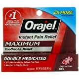 Orajel Size .42z Orajel Maximum Strength Toothach Relief