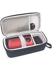 Esimen Case for Nebula Capsule Smart Portable Wi-Fi Pico Projector by Anker Pocket Cinema Travel Case Bag (Black(Upgraded Version))