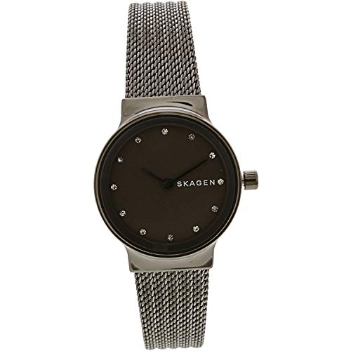 Skagen Women's Freja - SKW2700 Gunmetal One Size (Date Womens Watch Skagen)