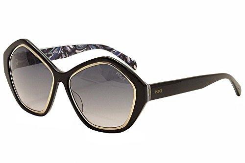 emilio-pucci-womens-ep0019-0019-05b-black-gold-multi-fashion-sunglasses-57mm