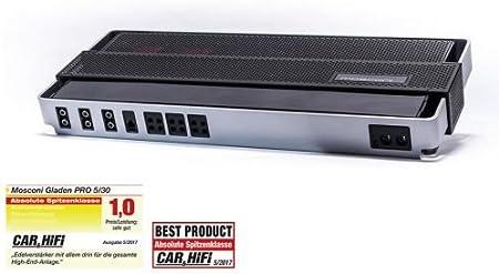 Mosconi Pro 5|30 – Amplificador de 5 canales: Amazon.es: Electrónica