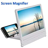 "blue--net 8.2 inch Screen Magnifier 3D Smart Mobile Phone Movies Amplifier, Cellphone Projector Enlarged Amplifier HD Movie Video Amplifier for 2.5""- 6.0"" Screen Cellphones"