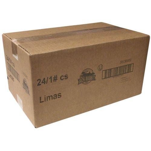Jack Rabbit Baby Lima Beans - 1 lb. bag, 24 bags per case by Trinidad Benham