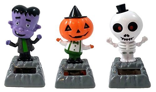 Solar Powered Dancing Halloween Set Of 3 By Dollar Tree