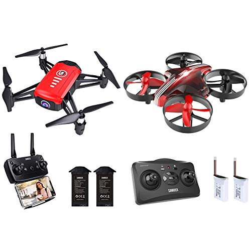 SANROCK H818 Drones for Kids with 720P Camera + SANROCK GD65A Upgrade Mini Drones for kids
