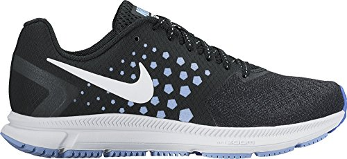 Women's Nike Air Zoom Span Running Shoe Black/White/Alumi...