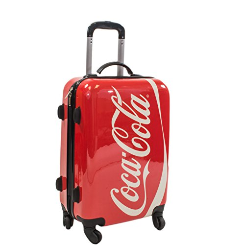 Case Spinner 21 (Coca Cola 21 Inch Spinner Rolling Luggage Suitcase Carry-On Luggage)