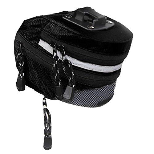 GSusan Fahrrad Satteltasche und Fahrrad Reparatur Fahrrad Multitools Fahrradtasche mit Notfallwerkzeug Fahrrad Flickzeug Reifenheber mit Satteltasche für Mountainbikes und Rennräder