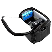 MegaGear DSLR Camera Black Case Bag for Nikon COOLPIX L820, L830 L810, P520, P530, P510, Nikon COOLPIX P610, Nikon COOLPIX L840