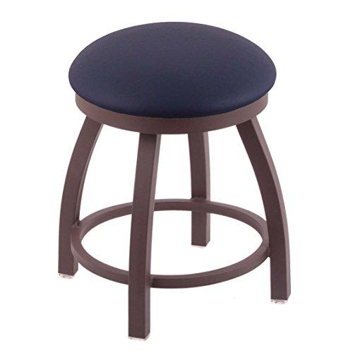 (Holland Bar Stool Co. 802 Misha Vanity Stool with Bronze Finish and Swivel Seat, 18
