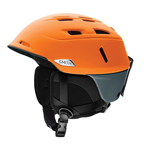 Smith Optics Camber Adult Ski Snowmobile Helmet - Matte Solar Charcoal / Large (Charcoal Mobile)