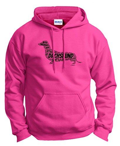 Dachshund Doxen Weiner Hoodie Sweatshirt