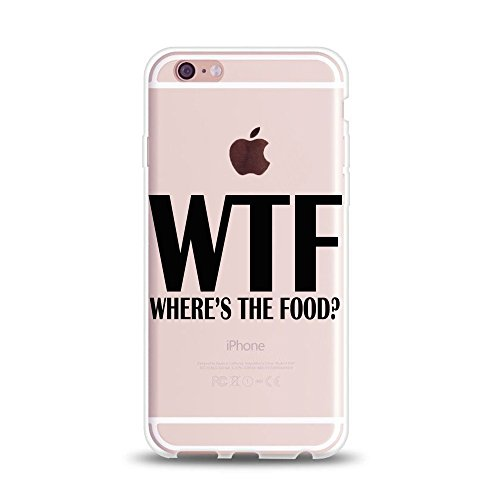 Funny Quotes iPhone Case WTF Rubber product image
