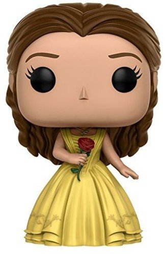 Funko POP Disney: Beauty & The Beast Yellow Gown Belle Toy (Beast Vinyl Figure)