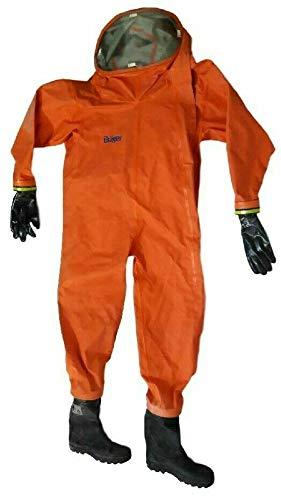 Drager WorkMaster Pro ET traje protector químico ...
