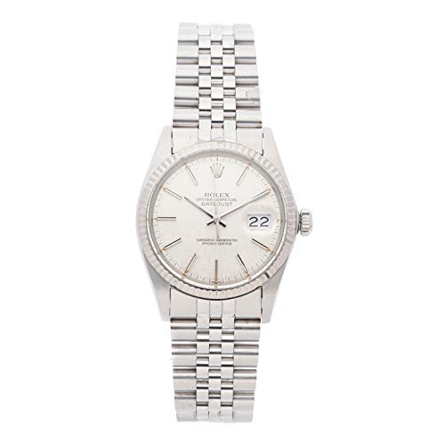 Rolex Datejust Mechanical (Automatic) Silver Dial Mens Watch 16014 (Certified Pre-Owned)