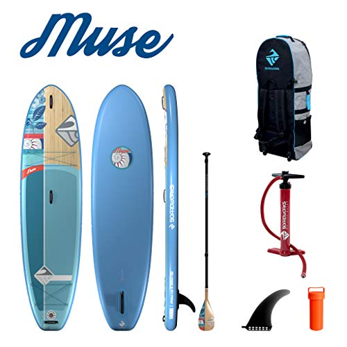 """Boardworks SHUBU Muse Recreational Inflatable Stand-Up Paddle Board (iSUP) 