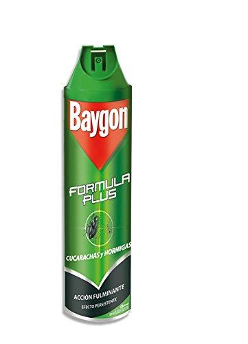 Baygon - Formula Plus Cucarachas Y Hormigas, 600 ml: Amazon.es: Alimentación y bebidas