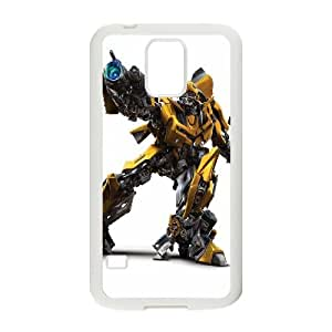 Transformers Bumblebee Samsung Galaxy S5 Cell Phone Case White phone component RT_178066