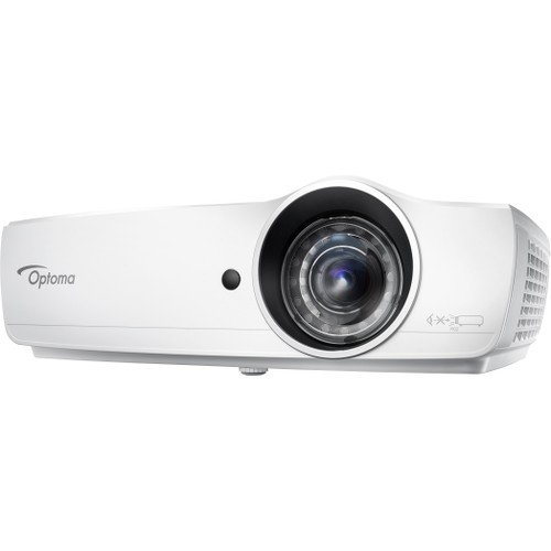 Optoma EH460ST Data Projector 152-inch 4 200 Lumen 1080P Image from 5.5-Feet Away (Best Projector For 200)
