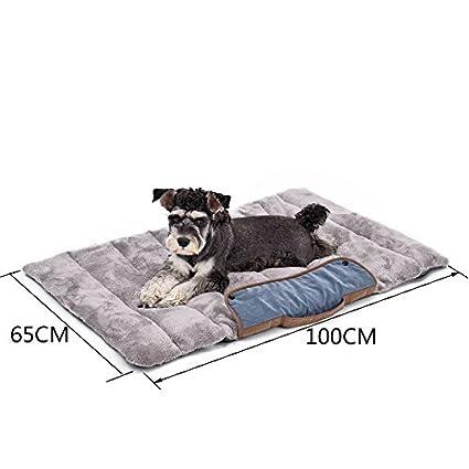 Miniwild Perro Almohadilla portátil Cama de Mascota Ultra Soft Sleep Mat para el Transporte de Viaje